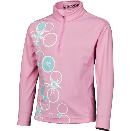 Spyder Bitsy Sparkle Cotton Turtleneck (Toddler Girls') -