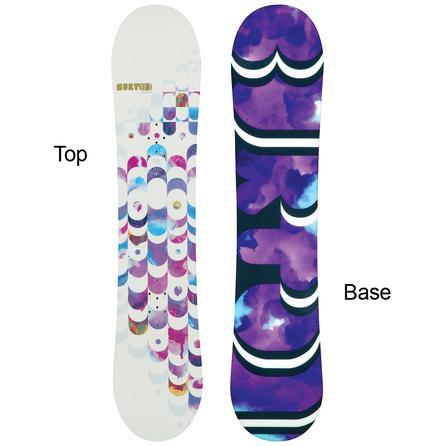 Burton Feelgood Smalls Snowboard (Girls' All-Mountain) -