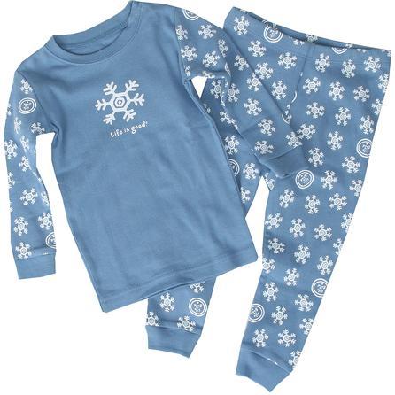 Life is Good Snowflake Two Piece Sleep Set (Toddlers') -
