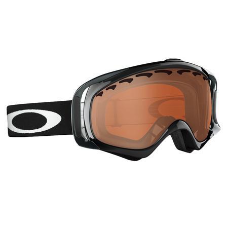 Oakley Crowbar Black Iridium Goggles (Adults') -