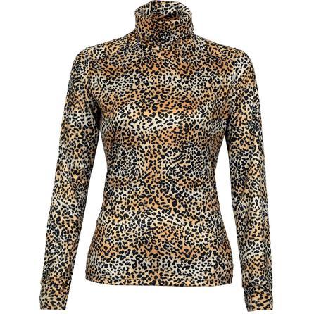 Hot Chillys All-Print PeachSkin Baselayer Top (Women's) - Cheetah