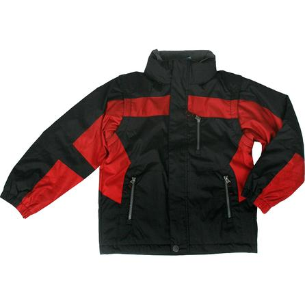 White Sierra Joe Bob Zip-Off Sleeve Waterproof Jacket (Youth) -