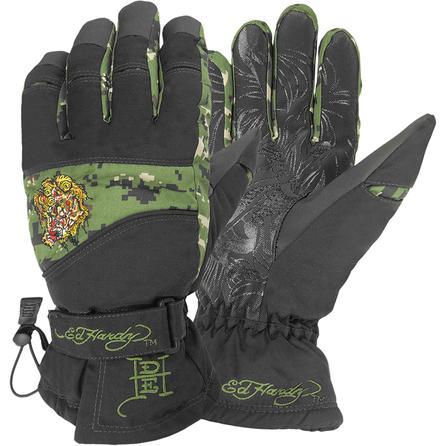 Ed Hardy Demon Head Gloves (Men's) -