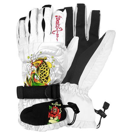 Ed Hardy Beatiful Koi Glove (Women's) -