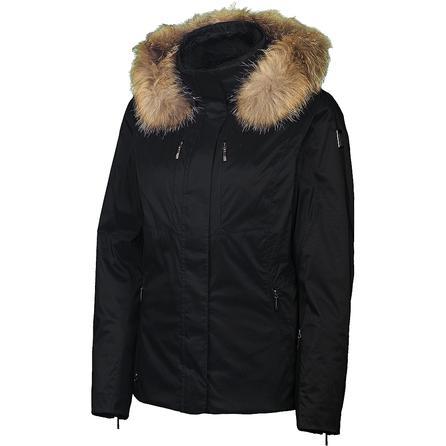Spyder Diamond Insulated Ski Jacket with Real Fur (Women's) -