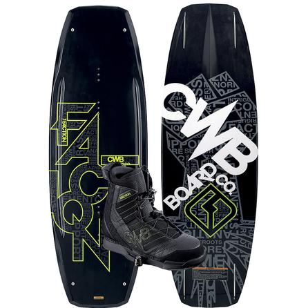 CWB 138 Faction Wakeboard Package With Faction Boots (Men's) -