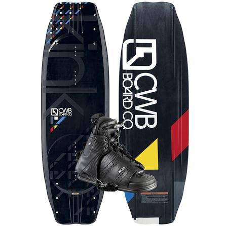 CWB 140 Kink Wakeboard Package with Torq Boots (Men's) -
