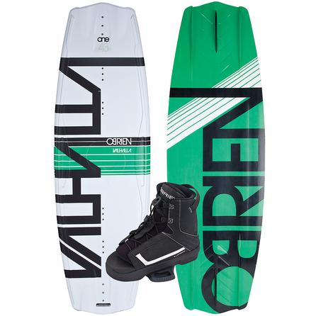 O'Brien 143 Valhalla Wakeboard Package with Link Boots (Men's) -