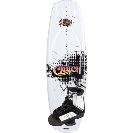 O'Brien 137 Clutch Wakeboard Package with Access Boots (Men's)  -