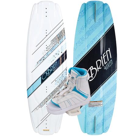 O'Brien 137 Vixen Wakeboard Package with Vixen Boots (Women's)  -