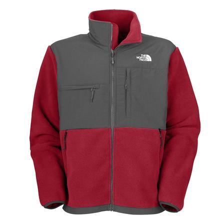 The North Face Denali Jacket (Men's)  - R Biking Red/Asphalt Grey