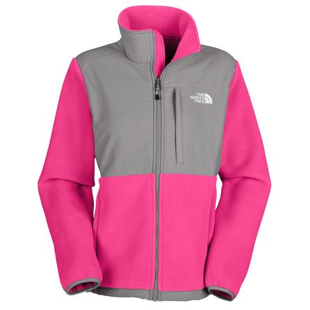 The North Face Denali Jacket (Women's) - Passion Pink/Grey