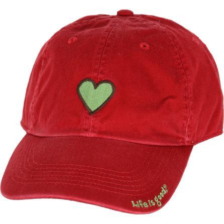 Life is Good Heart Chill Cap (Women's) -