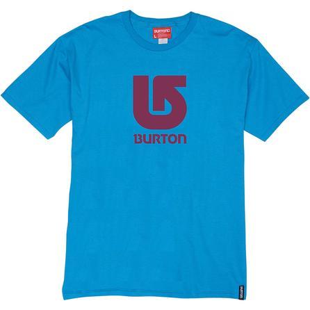 Burton Logo Vertical Short Sleeve Tee (Men's) -