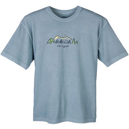 Life is Good Crusher Camp Horizon T-Shirt (Men's) -