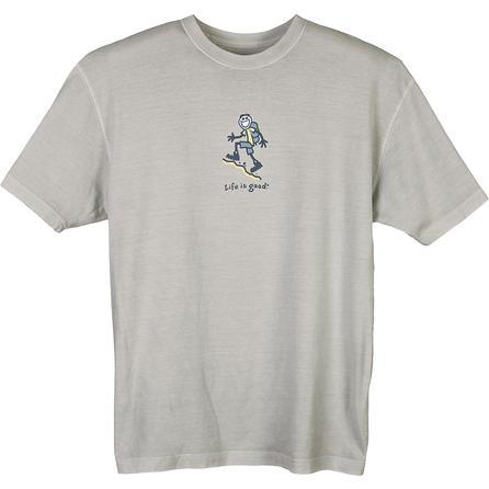 Life is Good Upward Onward Crusher T-Shirt (Men's) -