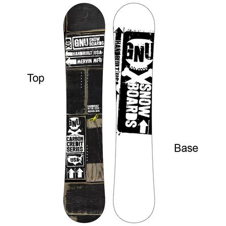 Gnu Carbon Credit BTX Wide Snowboard -