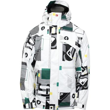 Quiksilver Last Mission Print Insulated Snowboard Jacket (Men's) -