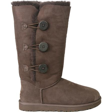 UGG Bailey Button Triplet Boot (Women's) - Chocolate