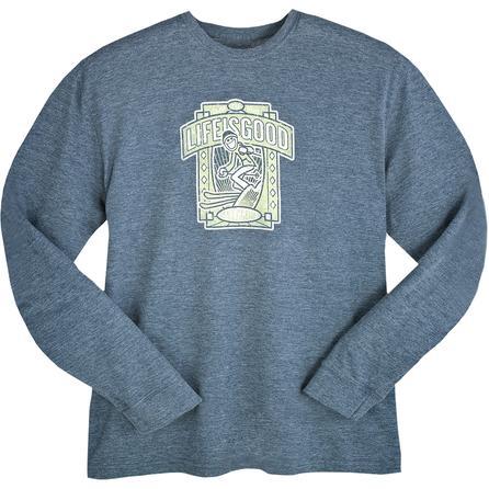 Life is good Cool Ski Club Long Sleeve T-Shirt (Men's) -