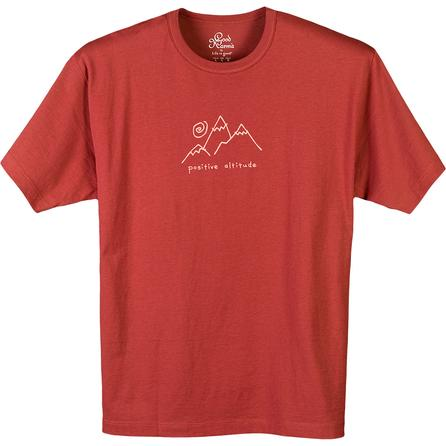 Life is good® Good Karma Positive Altitude Organic T-Shirt (Men's) -