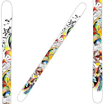 LINE Snow Angel Alpine Skis (Kid's) -