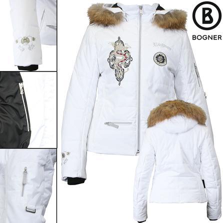 Bogner Magda2 Insulated Ski Jacket with Fur (Girls') -