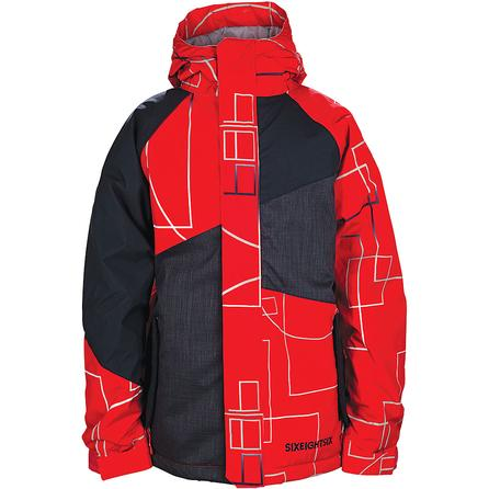 686 Geometry Insulated Snowboard Jacket (Boy's) -