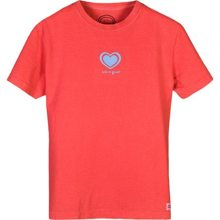 Life is good® Paper Heart Crusher T-Shirt (Women's) -