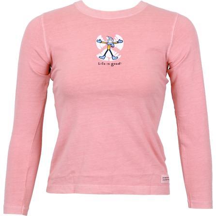 Life is good® Crusher Snow Angel Long Sleeve T-Shirt (Girls') -