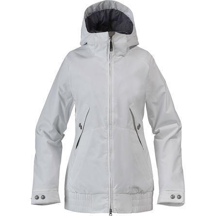 Burton White Collection Hot Tottie Insulated Snowboard Jacket (Women's) -
