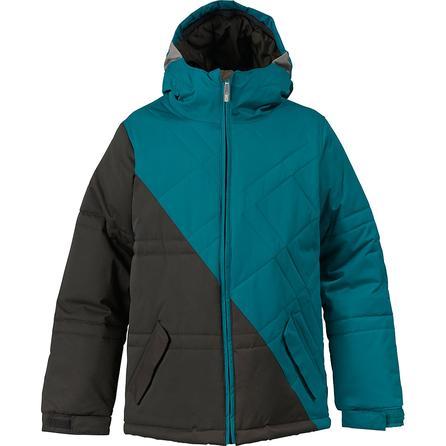 Burton White Collection Puffaluffagus Snowboard Jacket (Boys') -