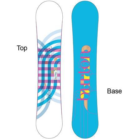 Burton Feather Mid-Wide V-Rocker Snowboard (Women's) -