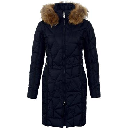 Diamond in the Snow Puzzle Quilt Down Ski Jacket (Women's) -