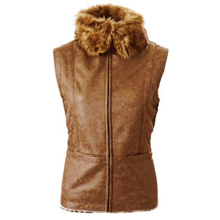 Montanaco Faux Shearling Aviator Vest (Women's)  -