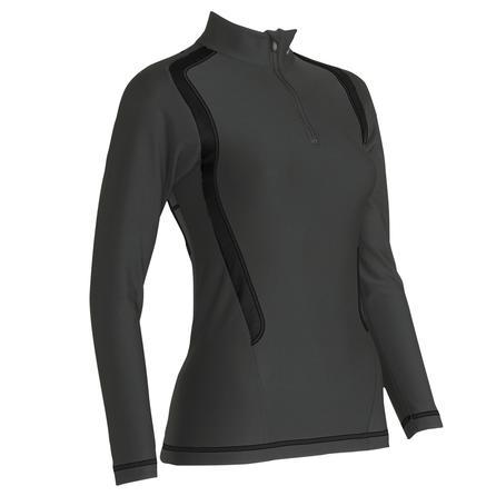 CW-X Insulator Web Zip Baselayer Top (Women's)  - Black