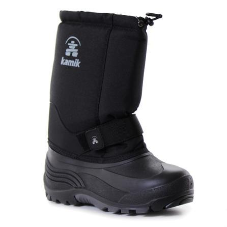 Kamik Rocket Wide Width Winter Boots (Kids') - Black