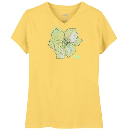 The North Face Short Sleeve Painted Flower T-Shirt (Girls') -