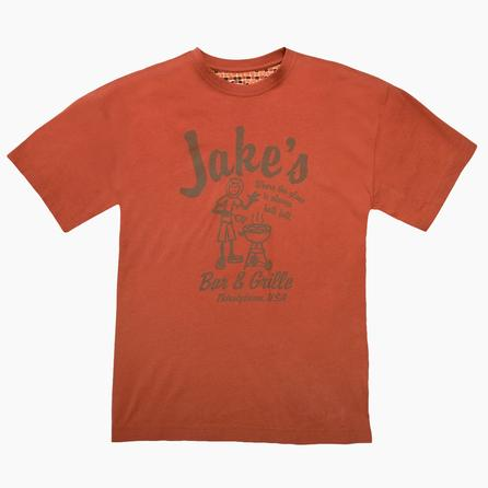 Life is good Jake's Bar & Grill Creamy T-Shirt (Men's) -