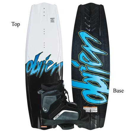 O'Brien Valhalla 143 Wakeboard Package with Link Boots (Men's) -