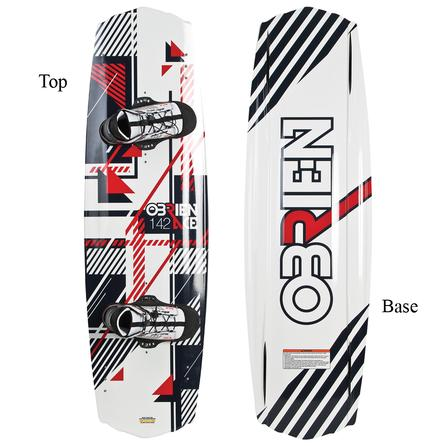 O'Brien Ace 142 Wakeboard Package with Kick Boots (Men's) -