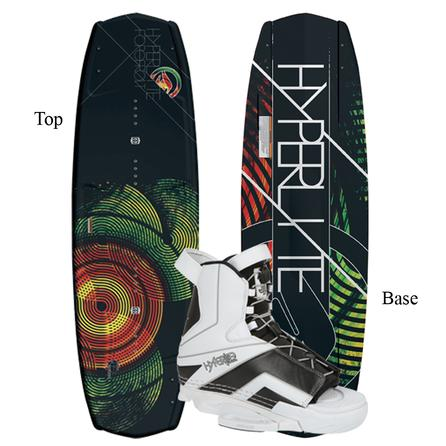 Hyperlite 139 Forefront Wakeboard Package with Remix Boots (Men's) -