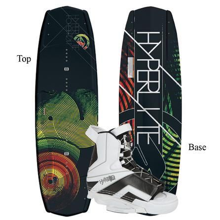 Hyperlite 144 Forefront/ Remix Wakeboard Package (Men's) -
