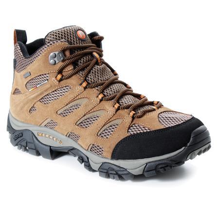 Merrell Moab Waterproof Mid Boot - Wide (Men's) - Dark Earth