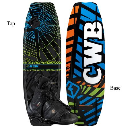 CWB Kink 140 Wakeboard Package with L/XL Torq Boots (Men's) -
