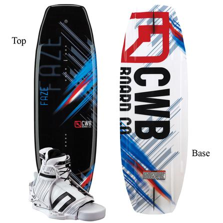 CWB Faze 140 Wakeboard Package with Edge Boots (Men's)  -