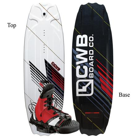 CWB Sol 141 Wakeboard Package with Mobe Boots (Men's) -