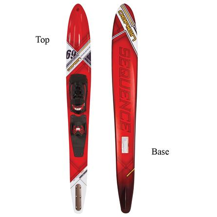 """O'Brien 69"""" Sequence Waterski with X-9 Binding (Men's) -"""
