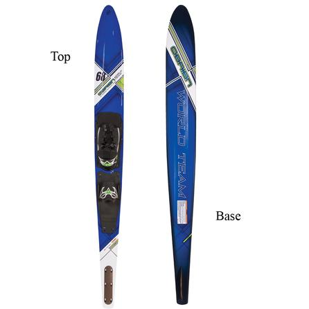 O Brien World Team 68 Slalom Waterski With X-9 Binding  -