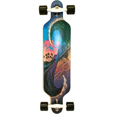 Dregs 40 Paradox Freeride Longboard Skateboard -